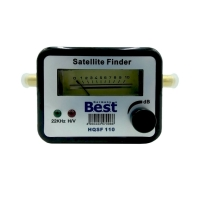 Digitaler SAT-Finder BEST Germany HQSF 110 mit F-Anschlusskabel
