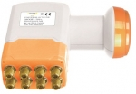LNB Octo Golden Media GM-208  0,1dB Full HD 3D Ready