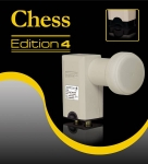 LNB Twin CHESS Edition 4 Digital HDTV DVB-S2 0,1dB
